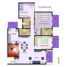 3 Bedroom House Plans Indian Style Best Two Bedroom House Plans In India Jurgennation Com