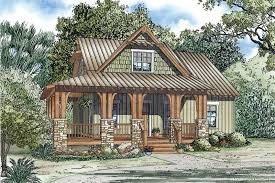 craftsman house plans with porch silvercrest craftsman cabin home plan 055d 0891 house plans and more