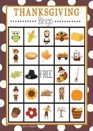 printable thanksgiving bingo set bingo thanksgiving and gaming