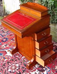 Victorian Secretary Desk by Antique Victorian Inlaid Mahogany Davenport Ladies Writing Desk
