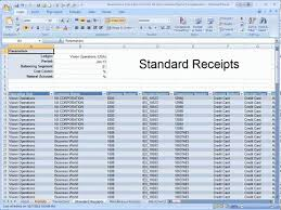 Balance Sheet Reconciliation Template The Receivables Reconciliation Demonstration Spreadsheet