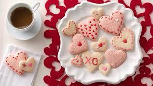 heart shaped cookies strawberry cheese heart cookies recipe bettycrocker