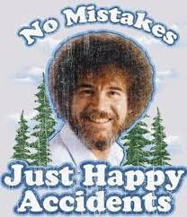 Bob Ross Meme - no mistakes bob ross know your meme