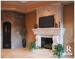cantera stone fireplaces are smoking rustico tile u0026 stone