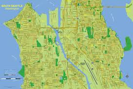 Maps Seattle by Active Guides Premier Property Maps And Relocation Guides