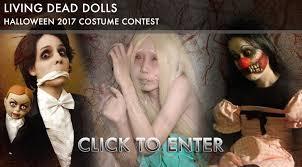 halloween photo contests living dead dolls