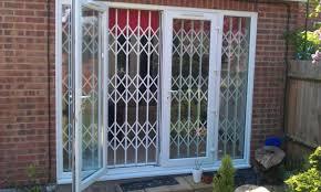 Patio Door Gate Sliding Door Fascinating Glass Security Gate Best Design That You