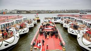 river cruise viking ship launch bc