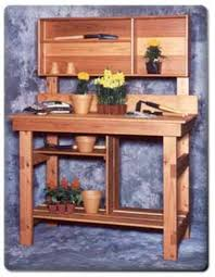 Plans For Making A Wooden Bench by 45 Diy Potting Bench Plans That Will Make Planting Easier Free