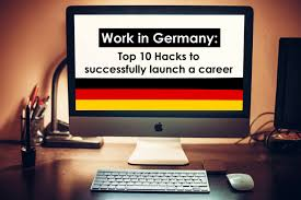 top 10 hacks to find a job in germany cv cover letter interview