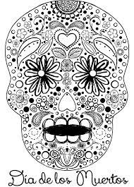 skulls coloring lovers