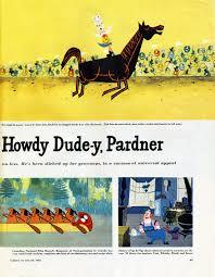Howdy Doody Rocking Chair Michael Sporn Animation U2013 Splog Events