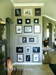 hanging picture frames ideas perfect ideas for hanging pictures on wall without frames vignette
