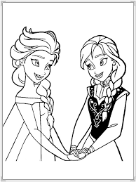 27 best frozen coloring pages images on pinterest draw cards