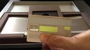 Wells Fargo Invitation Only Credit Card J P Morgan Chase Palladium Credit Card Unboxing Review Palladium