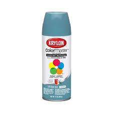 krylon 12 oz bahama sea blue interior exterior decorator spray