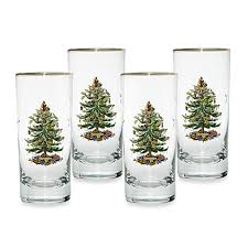 spode tree highball glasses set of 4 bed bath beyond