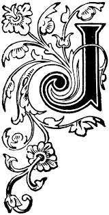 decorative letters clipart cliparts for you