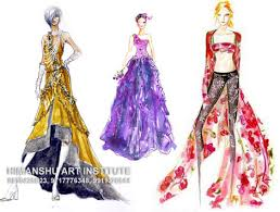 certificate course in fashion sketching call 9654446040 painting