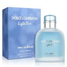 cheapest price for light blue perfume dolce gabbana light blue eau intense pour homme 100ml edp testeris