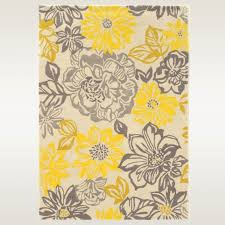 Flower Area Rugs by Uncategorized Yellow Area Rug Uncategorizeds