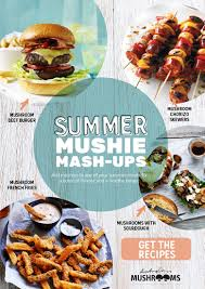 Summer Lunches Entertaining Surprising Mushroom Mash Ups Myfoodbook Food Stories
