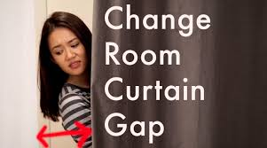 Fitting Room Curtains The Change Room Curtain Gap Youtube