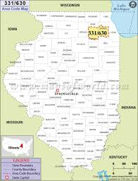 Dupage County Map 630 Area Code Map Where Is 630 Area Code In Illinois