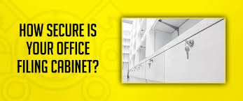 Secure Filing Cabinet Office Security How Secure Is Your Filing Cabinet Gv Lock