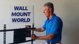 Tv Wall Mount Lowering Features Of The Asm 504s 31 5in Extension Tv Wall Mount Youtube