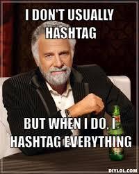 Hashtag Meme - jasmeenchauhan plugged in
