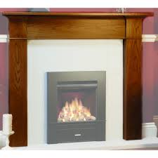 brompton wooden fireplace mantel