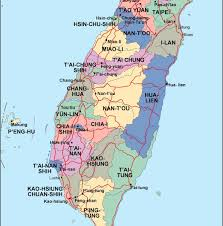 Taiwan Map Asia by Taiwan Political Map Eps Illustrator Map Our Cartographers Have