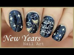 happy new year nail art nail designs u2013 the beauty of great nails