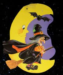 halloween cardboard die cut gallery witches the big scare