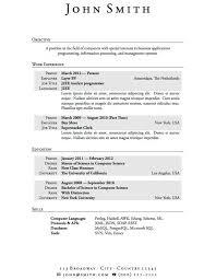 resume exles for non college graduates resume exles exles of resumes