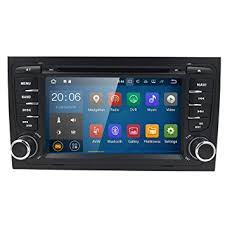 audi a4 2004 radio amazon com android 7 1 car gps stereo for audi a4 s4 rs4 b6 b7