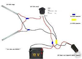12v wiring diagram lights