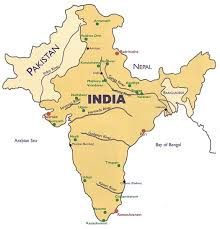 hinduism map of hinduism holy places
