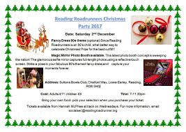 Christmas Party Ticket 2017 Christmas Party U2013 Reading Roadrunners