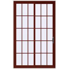 Home Depot Jeld Wen Interior Doors Jeld Wen 60 In X 96 In V 4500 Mesa Red Prehung Right Hand