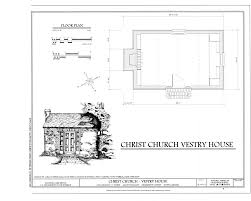 Charleston Floor Plan by File Floor Plan Christ Church Vestry House 2304 Highway 17
