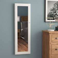 jewelry armoire full length mirror jewelry armoires you ll love wayfair