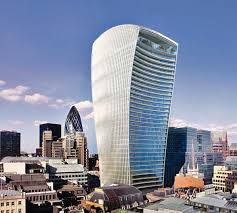 london glass building london s glass walkie talkie tower that concentrates the sun s