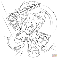 skylanders coloring pages free coloring pages