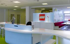 Contemporary Reception Desk Office U0026 Workspace Beautiful Office Of Lego With Contemporary