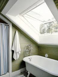 White And Wood Bathroom Ideas 15 Magnificient Attic Bathroom Designs Rilane