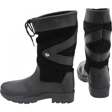 mens short motorcycle boots horka equestrian unisex greenwich cow leather woolen lining short