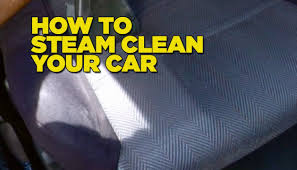 home products to clean car interior how to steam clean car diy