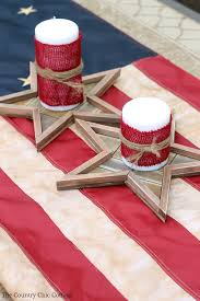 Fourth Of July Table Decoration Ideas Fourth Of July Party Decor The Country Chic Cottage